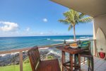 Lanai with awesome ocean views
