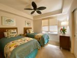 Guest Bedroom with Twin Beds may be Converted to King