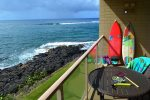 Lanai with beautiful ocean views
