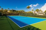 Poipu Sands has its own Tennis Court