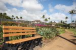 Sit and Relax on the Poipu Kai Greenbelt