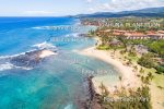 Poipu Beach Park is a 10 minute walk