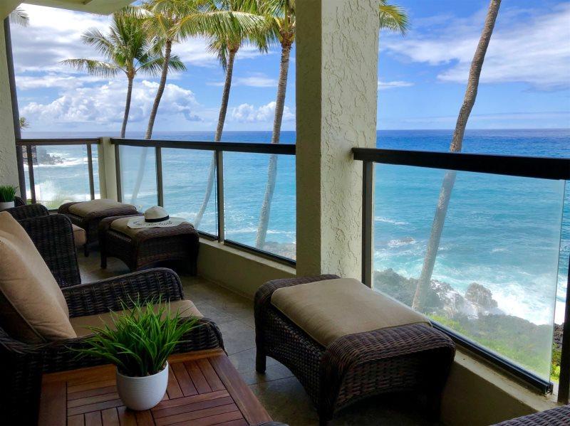 Poipu Shores 304A | Kauai Vacation Rental | Oceanfront
