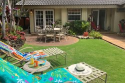 Hale Huna: Air Conditioned Home Right on the Poipu Kai Greenbelt