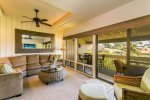Living Room and Outside Lanai