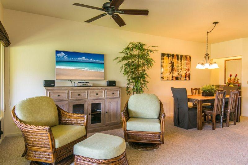 Manualoha 609 | Kauai Oceanview Condo Rental | Brenneckes Beach