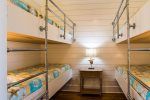 4 XL Twin Bunks with memory foam matresses