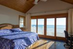 Absolutely stunning views of the beach and Gulf of Mexico from the 3rd floor Master Bedroom