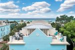 Gulf views from both sides of the roof deck  Lounge chairs coming soon
