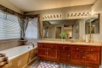 Master Bath His and Her Sinks