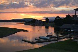 Sublime Sunrise condo at Bernard's Landing with Stunning Lake & Mountain Views