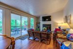 Hoffer kitchen/living area