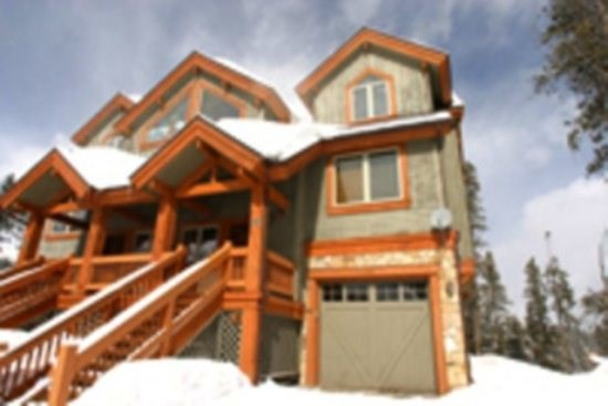 Newly built ski-in, ski-out townhome with garage