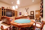 Family Room With Game Table