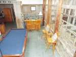 Pool Room- Bar- High Table/Chairs- 20 ft Windows
