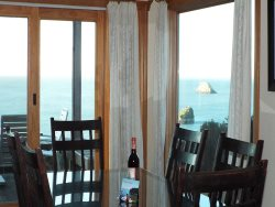 Dining Area Bay views