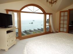 Beautiful Master Bedroom Ocean Views