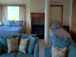 Upstairs Queen and Twin Beds