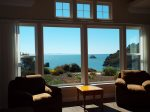 Incredible Ocean View from Living Room