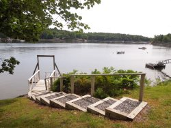 GULLS' NEST | GEORGETOWN MAINE | WATERFRONT | DOCK and FLOAT | BOATING | SWIMMING | PET-FRIENDLY