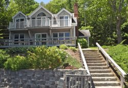 QUAHOG BAY   HARPSWELL, MAINE   OCEANFRONT   BOATING   DOCK & FLOAT   FAMILY VACATION