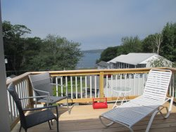 LINEKIN BREEZE IN EAST BOOTHBAY | Ocean View Pet-Friendly Maine Cottage