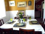 Seat Up To 6 guests at this quaint dining table