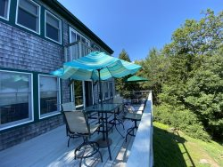 Sj&oumlstuga the Sea Cottage | Peaceful, Pet Friendly, Waterfront Home in East Boothbay