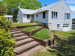 Guests love the unobstructed view of the Sheepscot Bay from Merwick`s perch above it.
