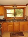 The Kitchen with its African Granite Counters