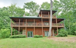 Sunset Mountain Lodge - Beautiful sunset views over gorgeous Cashes Valley with super private location
