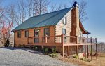 A-Lone Peak - A Private and Upscale Mountain Retreat with Magnificent Views of Blue Ridge Mountains