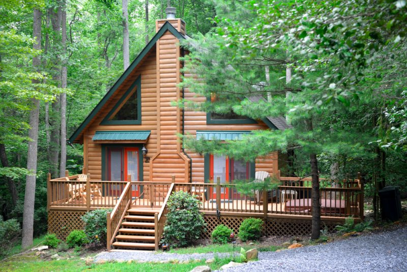 Blue Ridge Cabin Rental Exterior