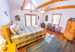 Main Level Master Suite Features Access To Covered Deck Overlooking The Toccoa River