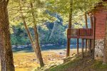Rivers D Lite Sits on The Banks of The Toccoa River