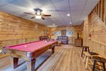 Upper Level Master Bath Features a Jetted Tub and Stand Up Shower
