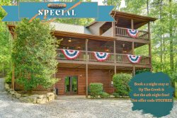 Up The Creek - Beautiful Long Range Mountain Views and Creek Frontage