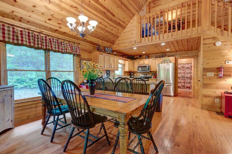 Up The Creek | Blue Ridge Cabin Rentals