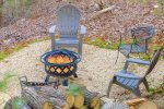 Fire Pit Located off Deck