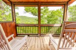 Private Screened In Deck Located off Upper Level Master Bedroom