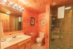 Basement Level Master Bathroom