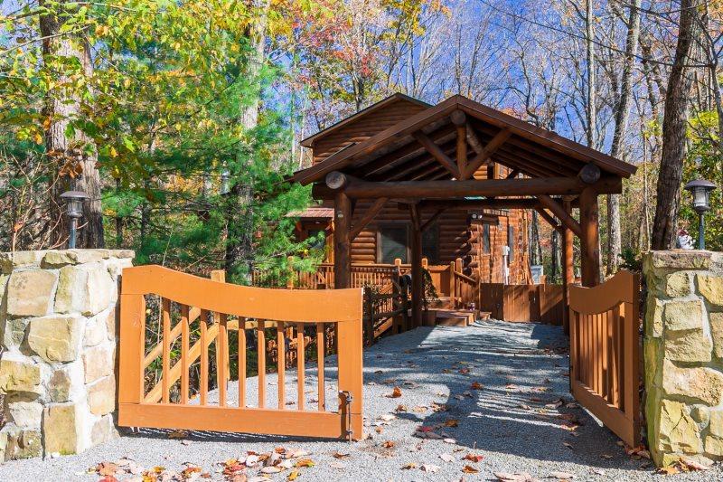 Wine Down Blue Ridge Mountain Cabin Rental