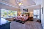 Main Level Master Suite 2 Features King Bed, 40 4K Smart TV