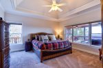 Main Level Master Suite 3 Features King Bed, 40 4K Smart TV, Breathtaking Views