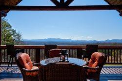 Ritz on the Rocks - Six Bedroom Long Range View Blue Ridge Cabin Rental