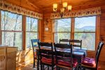 Dining Area with Beautiful Mountain Views