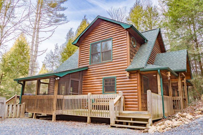 Fishing Cabin in Georgia | Fish Hawk Ranch | Blue Ridge Cabin Rentals