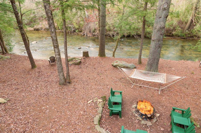 Fishing Cabin in Georgia | Fish Hawk Ranch | Blue Ridge