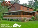 Mountain River Lodge was recently featured on HGTV`s Log Cabin Living