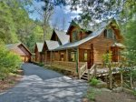 Bear Creek Lodge - Waterfront creek, ample mountain air and a true mountain cabin!